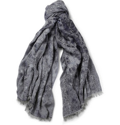 Paul Smith Shoes & Accessories Lightweight Jacquard-Woven Scarf