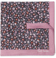 Paul Smith Shoes & Accessories Printed Fine-Cotton Pocket Square