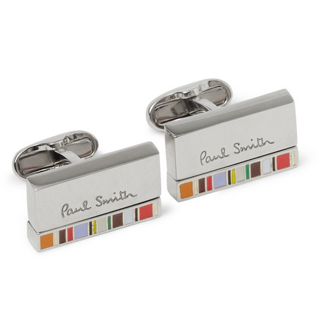 Paul Smith Shoes & Accessories Enamelled Cufflinks