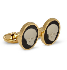 Paul Smith Shoes & Accessories Skull Cameo Cufflinks