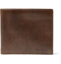 Paul Smith Shoes & Accessories Contrast-Lined Leather Billfold Wallet