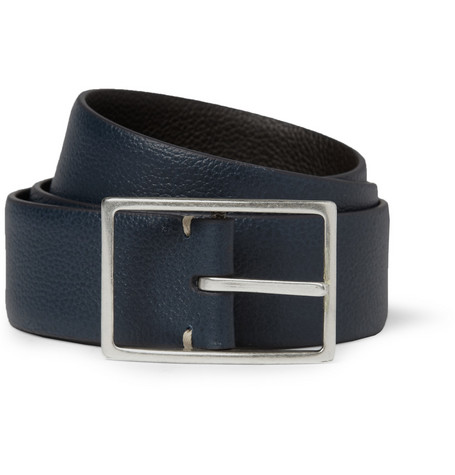 Paul Smith Shoes & Accessories Reversible Full-Grain Leather Belt