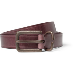 Paul Smith Shoes & Accessories Burnished-Leather Belt