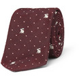 Paul Smith Shoes & Accessories - Rabbit-Embroidered Cotton and Silk-Blend Tie