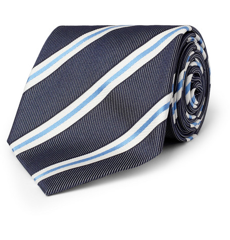 Paul Smith Shoes & Accessories Striped Silk Tie