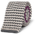 Paul Smith - Striped Knitted Silk Tie