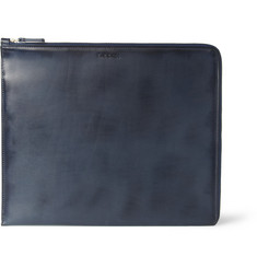 Paul Smith Shoes & Accessories Burnished-Leather iPad Case