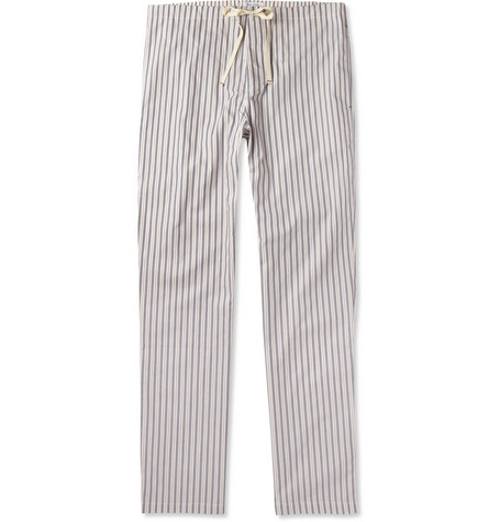 Paul Smith Shoes & Accessories Striped Cotton Pyjama Trousers
