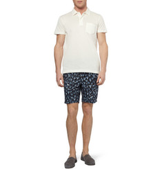 Paul Smith Shoes & Accessories Mid-Length Shark Tooth-Print Swim Shorts
