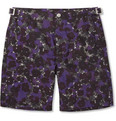 Paul Smith Shoes & Accessories Mid-Length Flower-Print Swim Shorts