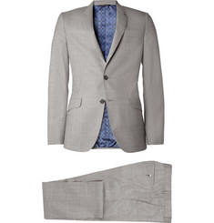 Paul Smith London Grey Kensington Slim-Fit Wool Suit