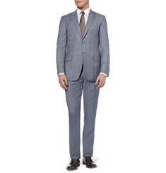 Paul Smith London Blue Byard Slim-Fit Check Wool Suit