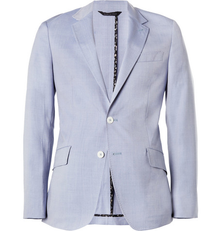 Paul Smith London Abbey Slim-Fit Wool and Silk-Blend Blazer
