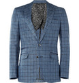Paul Smith London - Byard Check Linen-Blend Blazer
