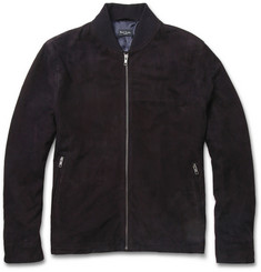 Paul Smith London Suede Bomber Jacket
