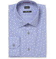 Paul Smith London - Blue Printed Cotton Shirt