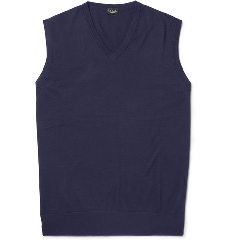 Paul Smith London Knitted Cotton Vest