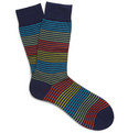 Richard James - Striped Cotton Socks