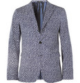 Jil Sander - Slim-Fit Printed Cotton-Twill Blazer