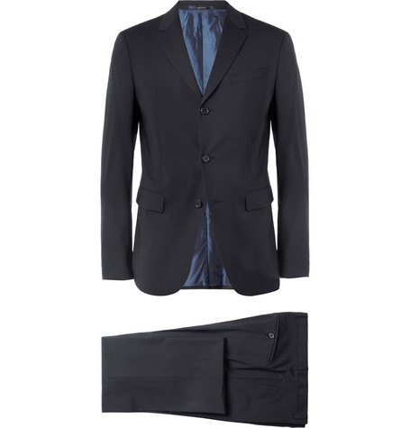 Jil Sander Navy Slim-Fit Wool-Blend Suit