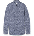 Jil Sander - Slim-Fit Heptagon-Print Cotton Shirt