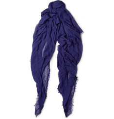 Jil Sander Lightweight Modal and Cashmere-Blend Scarf