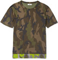 Valentino - Camouflage-Print Cotton-Jersey T-Shirt