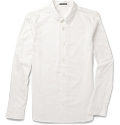 Ann Demeulemeester Club-Collar Cotton Shirt