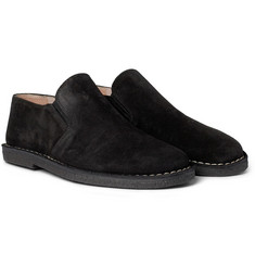Ann Demeulemeester Suede Slip-On Shoes