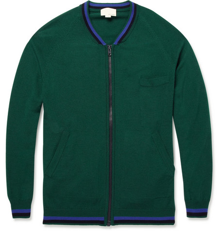 Band of Outsiders Zipped Cardigan