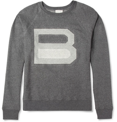 Balenciaga Loopback-Cotton Logo Sweatshirt