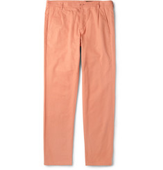 A.P.C. Pleated Cotton-Twill Chinos