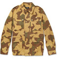 A.P.C. Camouflage-Print Cotton Field Jacket