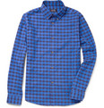 A.P.C. - Check Cotton-Flannel Shirt