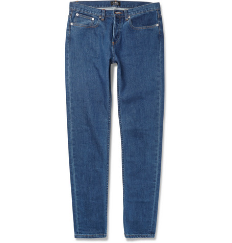 A.P.C. Petit New Standard Slim-Fit Washed Denim Jeans