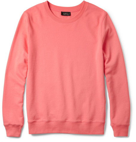 A.P.C. Loopback-Cotton Sweatshirt