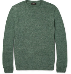 A.P.C. Knitted Cotton Sweater