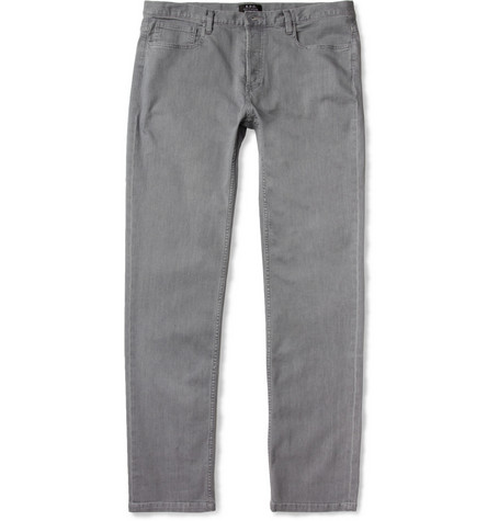 A.P.C. Petit Standard Lightweight Slim-Fit Washed-Denim Jeans