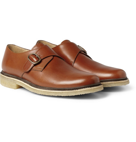A.P.C. Leather Monk-Strap Shoes
