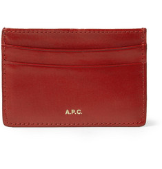 A.P.C. Leather Card Holder
