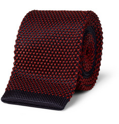 A.P.C. Two-Tone Knitted Tie