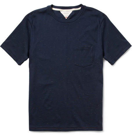 Rag & bone Flecked Cotton-Jersey T-Shirt