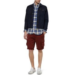 Rag & bone Check Brushed-Cotton Shirt