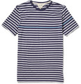 Rag & bone - Striped Cotton-Jersey T-shirt