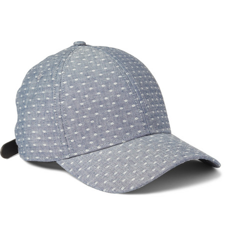 Rag & bone Cotton-Dobby Baseball Cap
