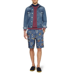 Acne Jam Washed-Denim Jacket