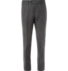 Acne Drifter Slim-Fit Linen and Cotton-Blend Suit Trousers
