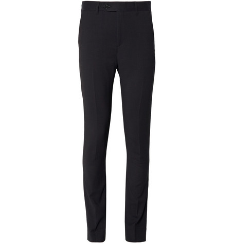 Acne Studios Navy Drifter Wool-Twill Suit Trousers