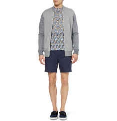 Acne Seymour Straight-Leg Cotton-Twill Shorts