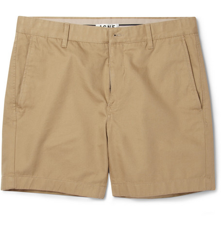 Acne Studios Seymour Slim-Fit Cotton-Twill Shorts